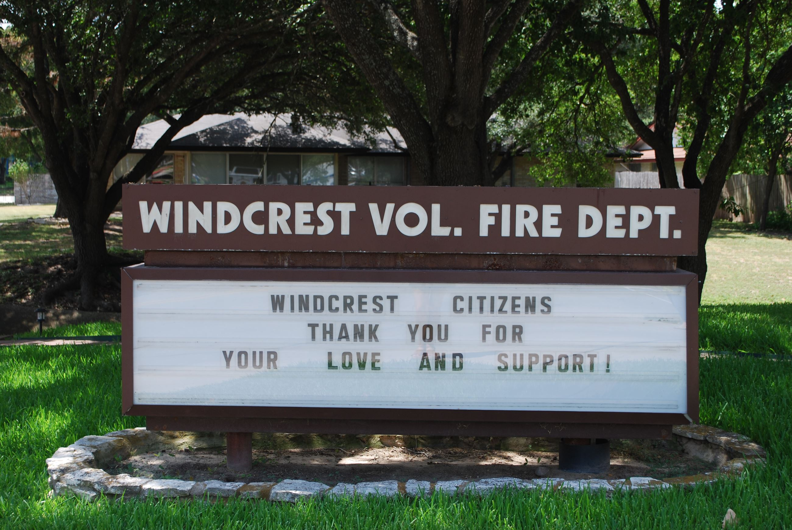 WVFD Marquee